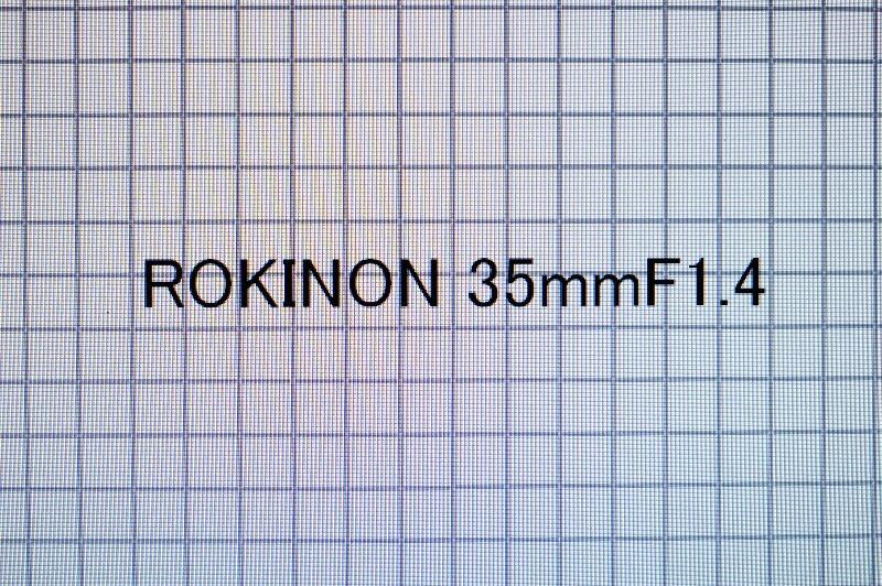 Rokinon35mmf14